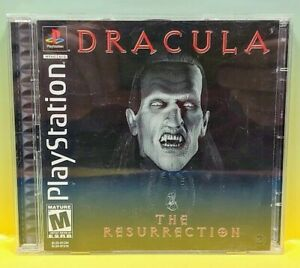 Dracula: The Resurrection - Playstation 1 2 PS1 PS2 Game Nice Clean Disc 1 Owner