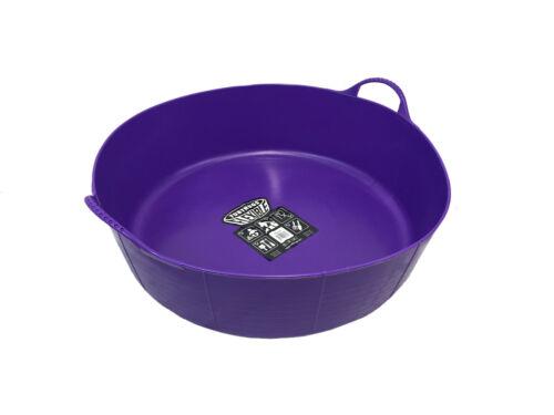 Cheval chargeur Trug Animal Pack de 2 x 35l Violet Shallow véritable Tubtrug