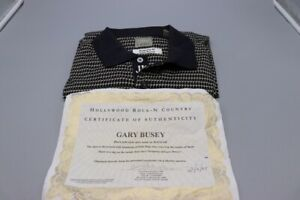 Gary-Busey-Owned-and-Worn-Haggar-Golf-Shirt-XL-with-Certificate-of-Authenticity