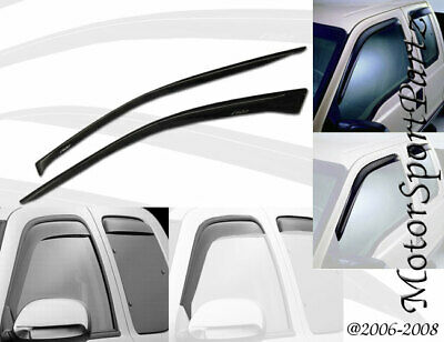 JDM Vent Window Visor Out-Channel 2pc Wind Deflector For Honda Civic SI 2002-05