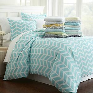 Image Is Loading Hotel Quality 3 Piece Patterned Duvet Cover Sets
