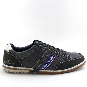 san francisco 81fc8 7f95b Details zu Tom Tailor Halbschuhe Sneaker coal Herren Schuhe NEU Gr. 41-46