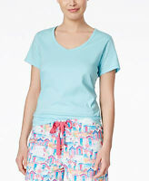 Charter Club Women's Cotton Pajama Top/sleep Tee,short Sleeve,x-small (10a40-3)