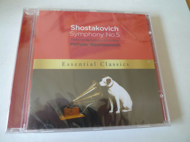 Dmitri Shostakovich : Symphony No. 5 CD NEW & SEALED