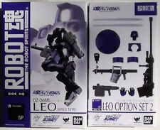 Robot Spirits Purple Space Leo Option Set 2 Gundam Wing Tamashii Bandai Damashii