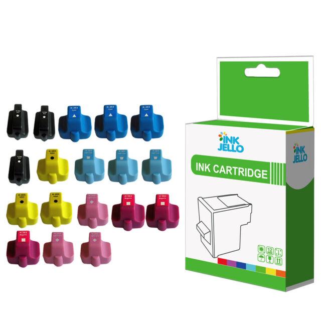 NON-OEM 18 Ink Cartridge for HP 363 Photosmart C6180 C6183 C6185 C6188 C6190