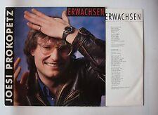 Joesi Prokopetz Erwachsen Austria LP 1986 + Innerbag DÖF Austro Pop
