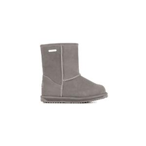 EMU-Australia-Girls-Charcoal-Brumby-Lo-Boots