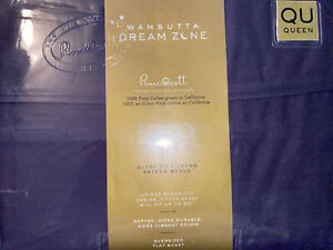 Wamsutta Dream Zone 1000-Thread Count PimaCott  Queen Sheet Set Solid Teal