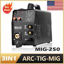 Hzxvogen 3in1 Mig Welder Arc Mma Lift Tig Welding Machine 110v 220v Gas Gasless