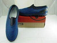 Propet Navy Blue Black Slip-on Athletic Shoes Size 11 W(d) In Box