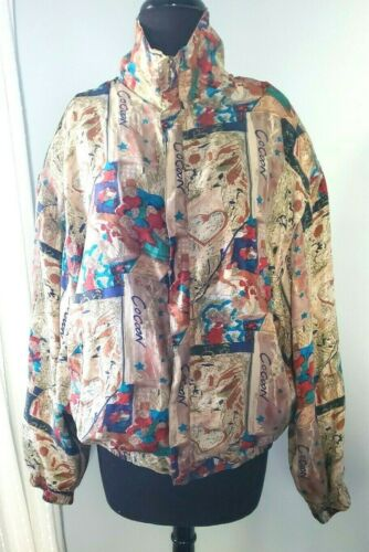 Vintage FuDa International Women's 100% Silk 80's