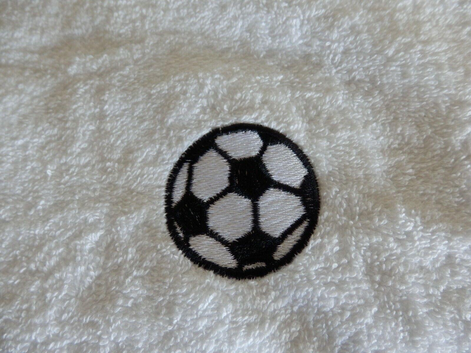 Fußball Design Personalisiert Handtuch,Bade Robe oder Kapuzen Handtuch Neuheit   | Fein Verarbeitet