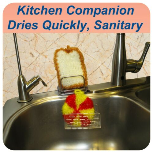 Cookware Shower,Kitchen Sink Acrylic Scrubber for Dish Bathroom counter top
