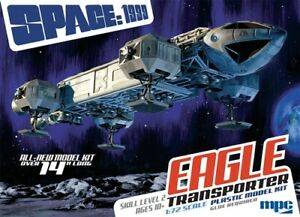 MPC-Space-1999-14-034-Eagle-Transporter-1-72-scale-model-kit-new-913