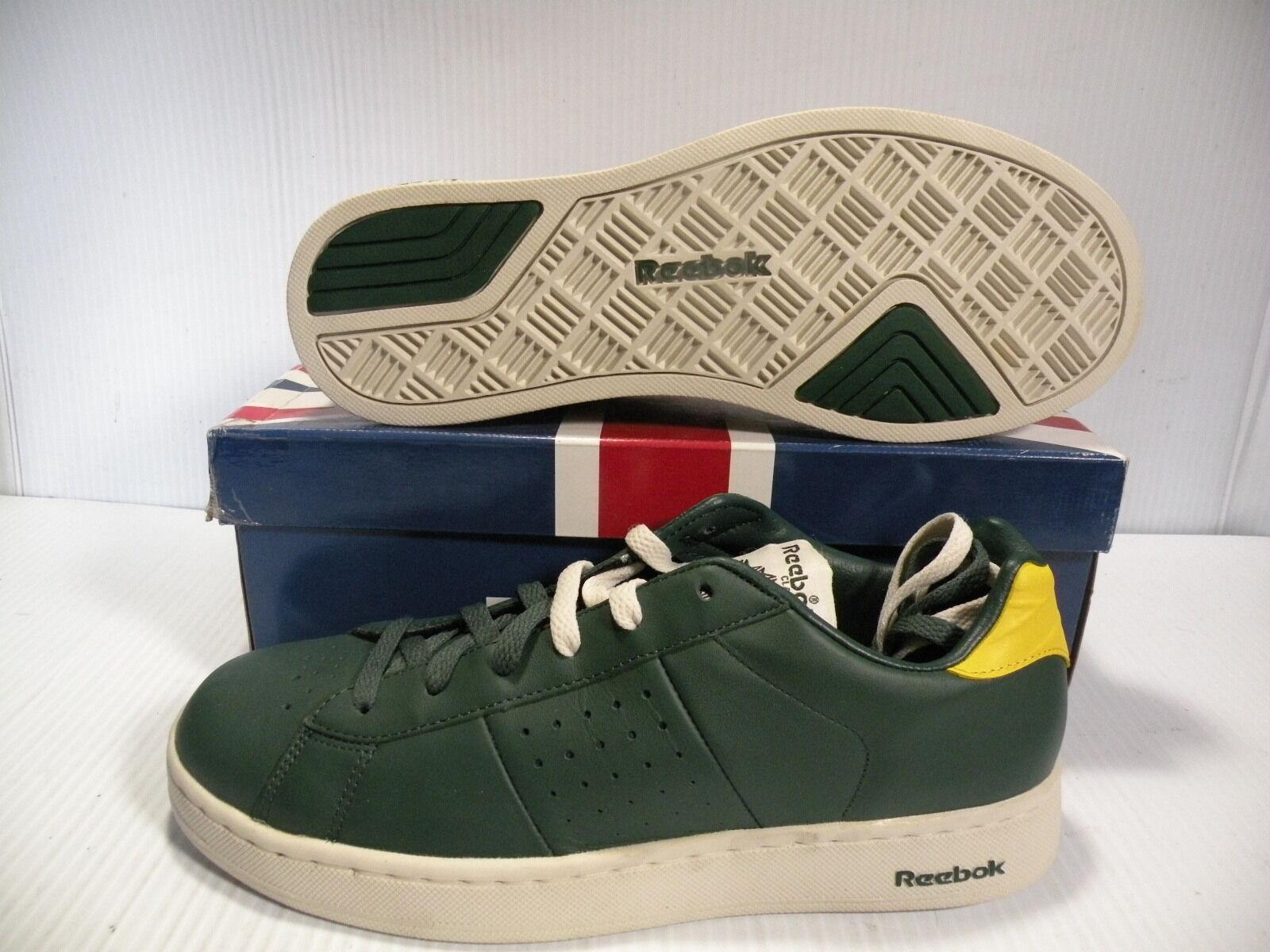 REEBOK CLASSIC NPC PLATINUM Tenis Zapatos Tenis Baja Para Hombre  -141058 Talla 10.5 Nuevo