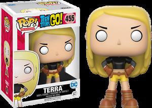 Funko Pop Vinyl-Teen Titans Go-Terra 9 cm