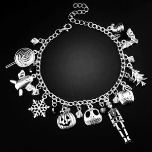 The-Nightmare-Before-Christmas-fandom-charm-Jack-bracelet-skellington-sally