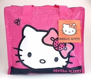 Original 2015 Hello Kitty Bag Leather Women Female Tote Designer Shell Handbags