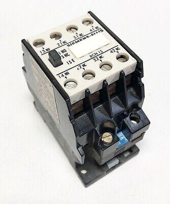 Siemens NEMA Size 1 Cat No CXL CO Starter Contactor 27 Amp 600 VAC Max