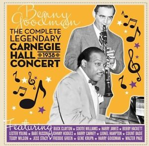Benny-Goodman-Complete-Legendary-Carnegie-Hall-1938-Concert-New-CD