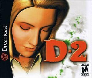 SEGA-Dreamcast-Spiel-D2-Warp-JAP-mit-OVP-sehr-guter-Zustand