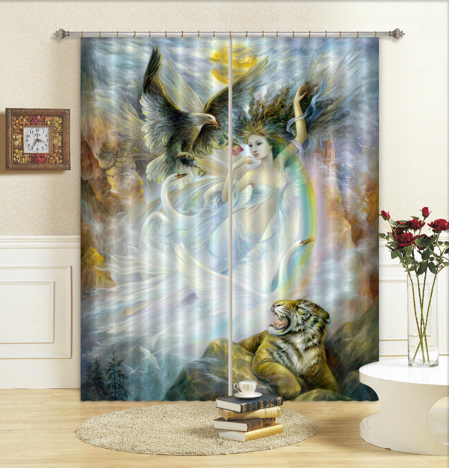 3d hada tiger 5263 bloqueo foto cortina cortina de impresión sustancia cortinas de ventana