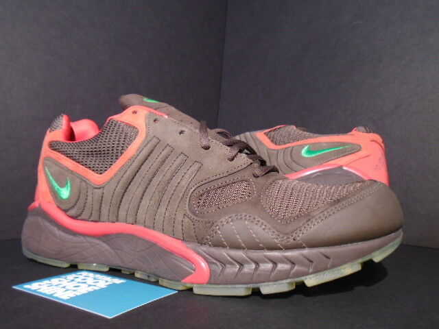 2005 Nike Zoom Air Talaria BAROQUE BROWN GREEN SPORT RED 311704-231 NEW 11
