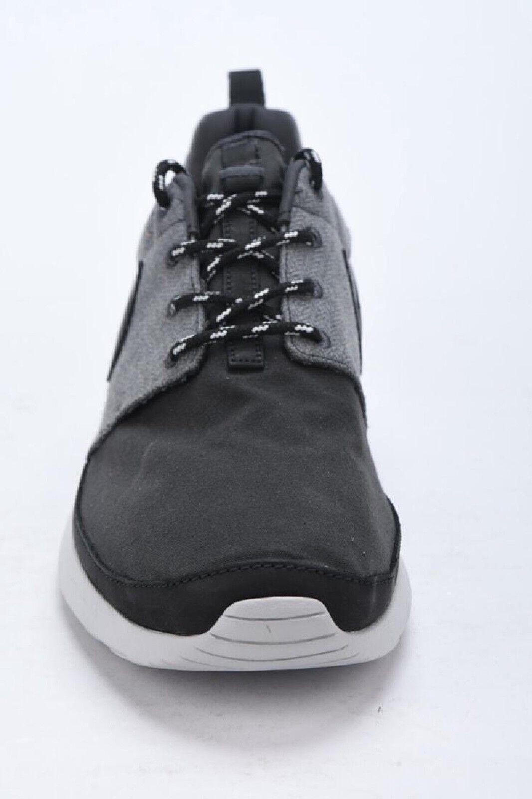 Nike rosherun premium premium premium nrg 580566-040 schwarz / graue sz10 ds 55cf38