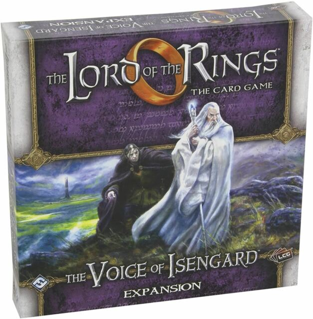 VOICE OF ISENGARD EXPANSION LOTR LCG