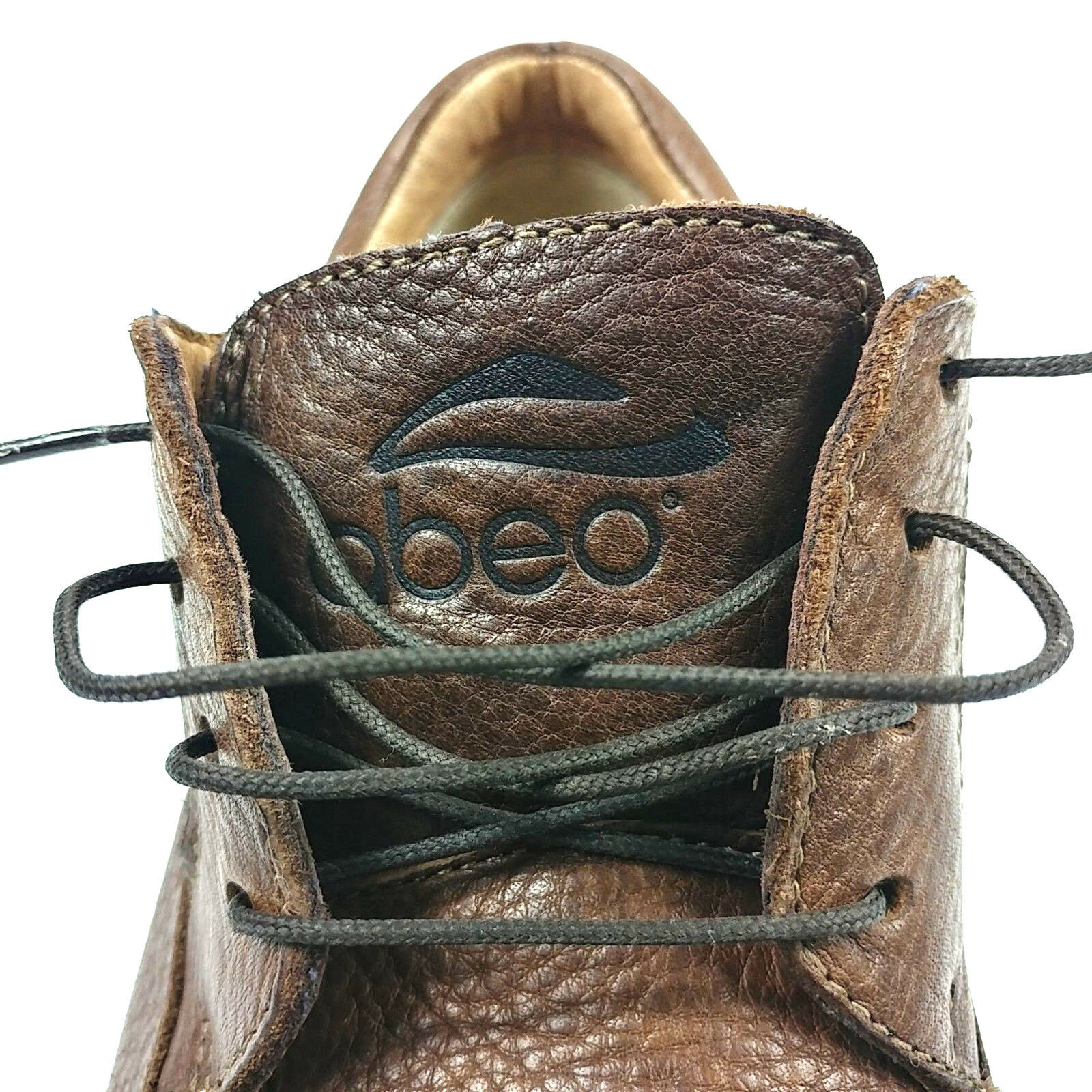 ABEO SMART SMART SMART SYSTEMS-3820 TIE damen lace Up Moc Toe braun Leather schuhe Größe 7.5M 979491