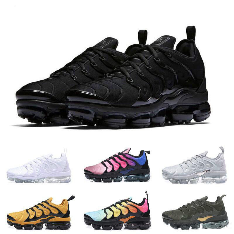 2019 Mens Wmns Air Shock absorption Vapormax Plus Max Running shoes Sneakers S1