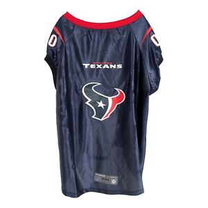 online store c7360 a46c6 Details about NEW! Houston Texans Dog Premium Football Jersey BIG DOGS! XXL