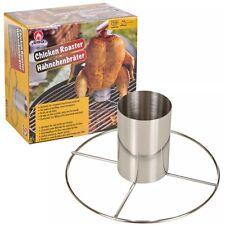BARBERCUE BBQ Griglia Girarrosto Verticale supporto verticale in acciaio inox 20X6.5X10CM