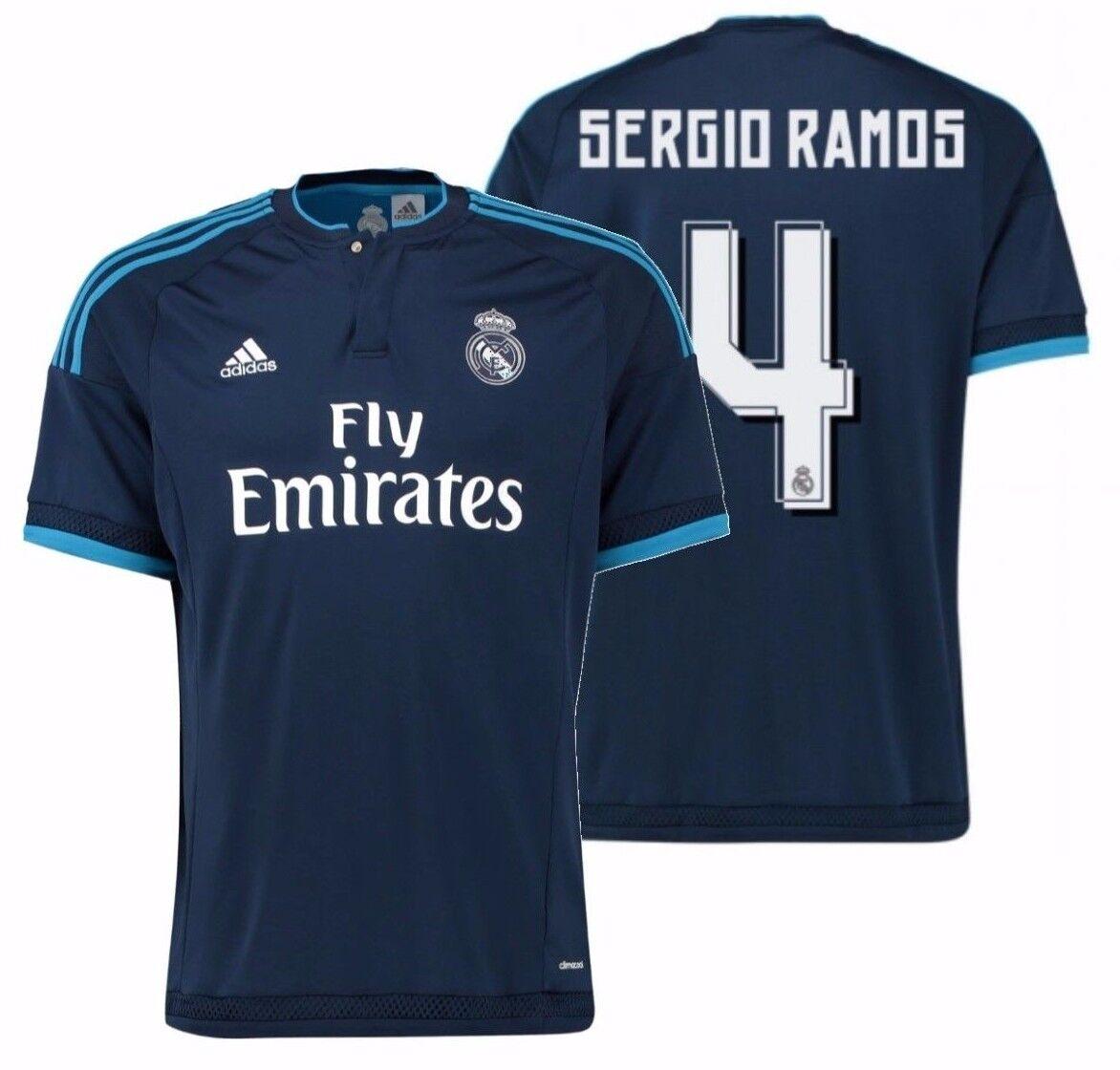 Adidas Sergio Ramos Real Madrid Tercera Camiseta 2015 16