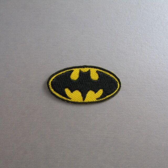 Mini Super Hero Iron On/ Sew Cloth Patch Badge Appliqué cosplay comic small tiny