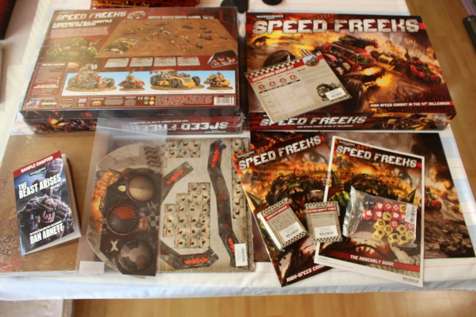 Speed Freeks Rules Books NO MINIATURES MINIATURES MINIATURES New Games Workshop Warhammer 40k Orks GW 17b