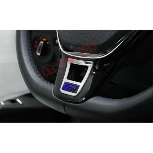 Blue Rline  ABS Steering Wheel Sequin Cover Trim for Passat B8 Variant 2017 2018