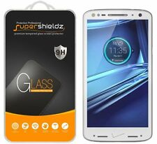 3X Supershieldz Motorola Droid Turbo 2 Tempered Glass Screen Protector Saver