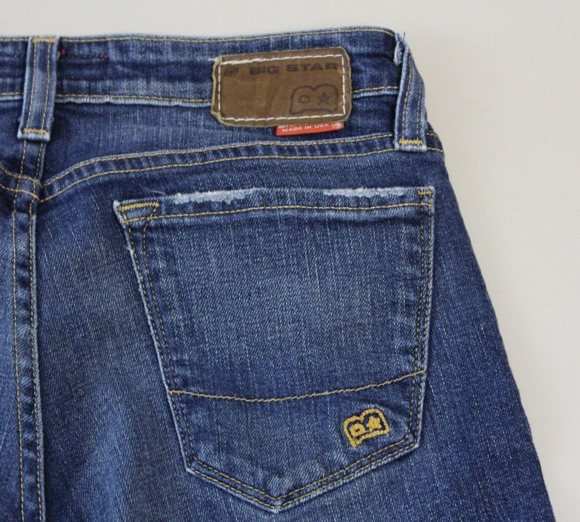 BIG STAR Women's 27R Boot Cut Jeans 27X32