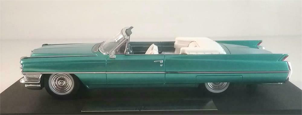 1964 Cadillac De Ville in Firemist Acquamarina in 1 43 Scala orovarg Collection