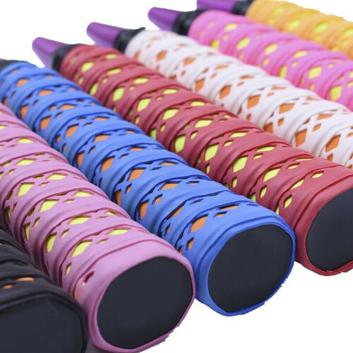 Absorb Sweat Racket Anti-slip Tape Handle Grip For Badminton Squash Band B9