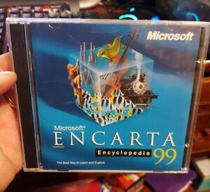 Details about Microsoft Encarta Encyclopedia 99 - PC CD ROM - FREE POST *