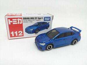 TAKARA-TOMY-TOMICA-Subaru-WRX-STI-Type-S-Escala-1-62