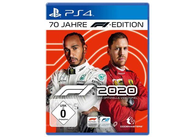 F1 2020 Formel 1 PS4 Spiel 70 Jahre DE Version