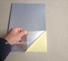 20pc A4 PET Silver Film Self Adhesive Sticker Waterproof Lazer Printer Paper