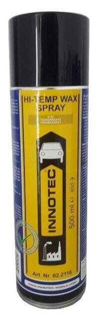 Innotec Hi-Temp Wax Unterbodenschutz Rostschutz Hohlraumversiegelung 500ml Spray