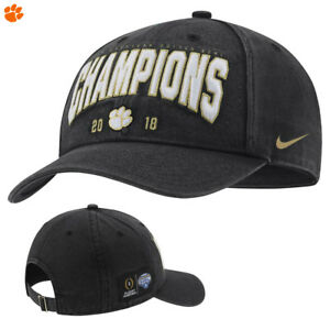 3ef8c8c0aef Image is loading Clemson-Tigers-Nike-Playoff-2018-Cotton-Bowl-Champions-