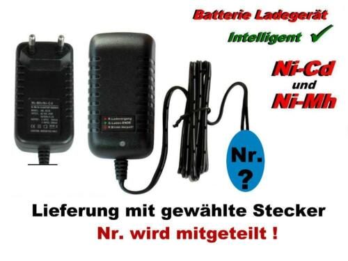 Ni-Cd Akkupacks von 2.4V-12V mit 3 fach Tamiya Stecker TOP Ladegerät für Ni-Mh