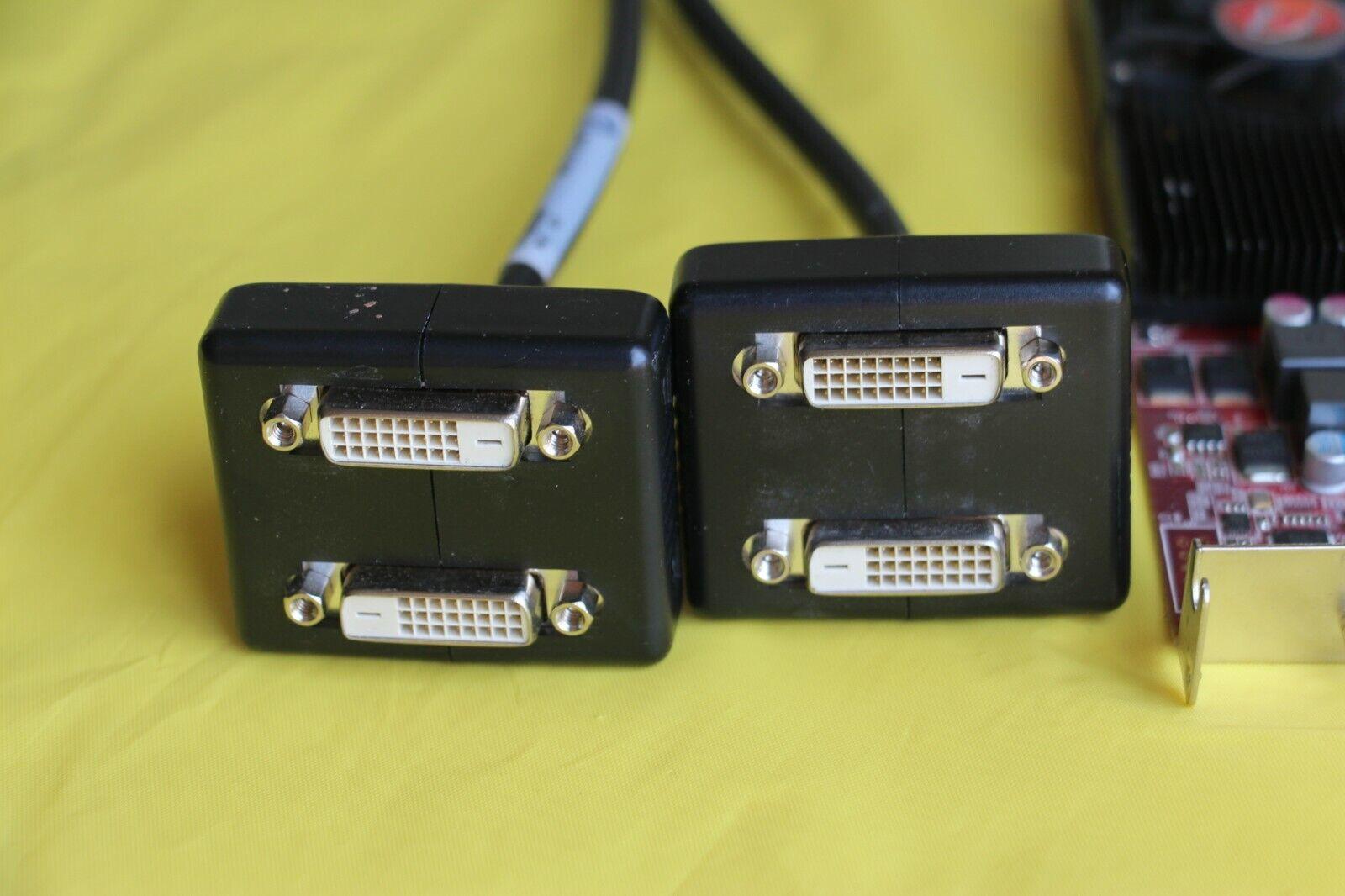 VisionTek Radeon 5570 SFF 1GB DDR3 4M VHDCI DVI (4x DVI-D), Supports 4 monitors